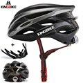 KINGBIKE велосипедный шлем матовый черный велосипедные шлемы для мужчин и женщин MTB дорожный велосипедный шлем Casco Ciclismo сигнальная лампа велоси...