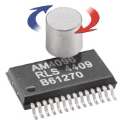 Magnetic 12 Bit Absolute Value Encoder IC Chip AM4096PT New Original Imported SSI