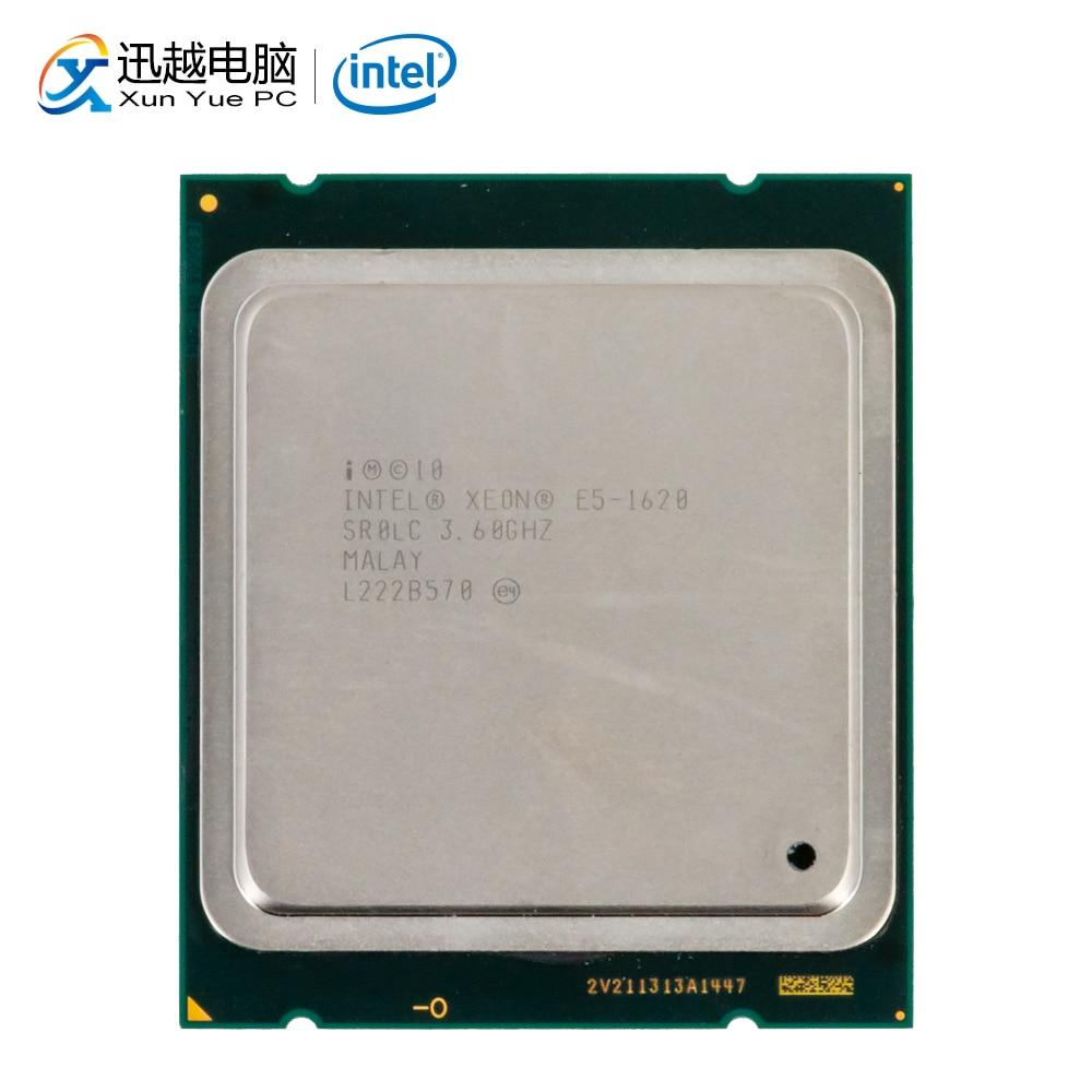 Intel xeon E5-1620 processador de desktop 1620 quad core 3.6 ghz 10 mb l3 cache lga 2011 servidor usado cpu