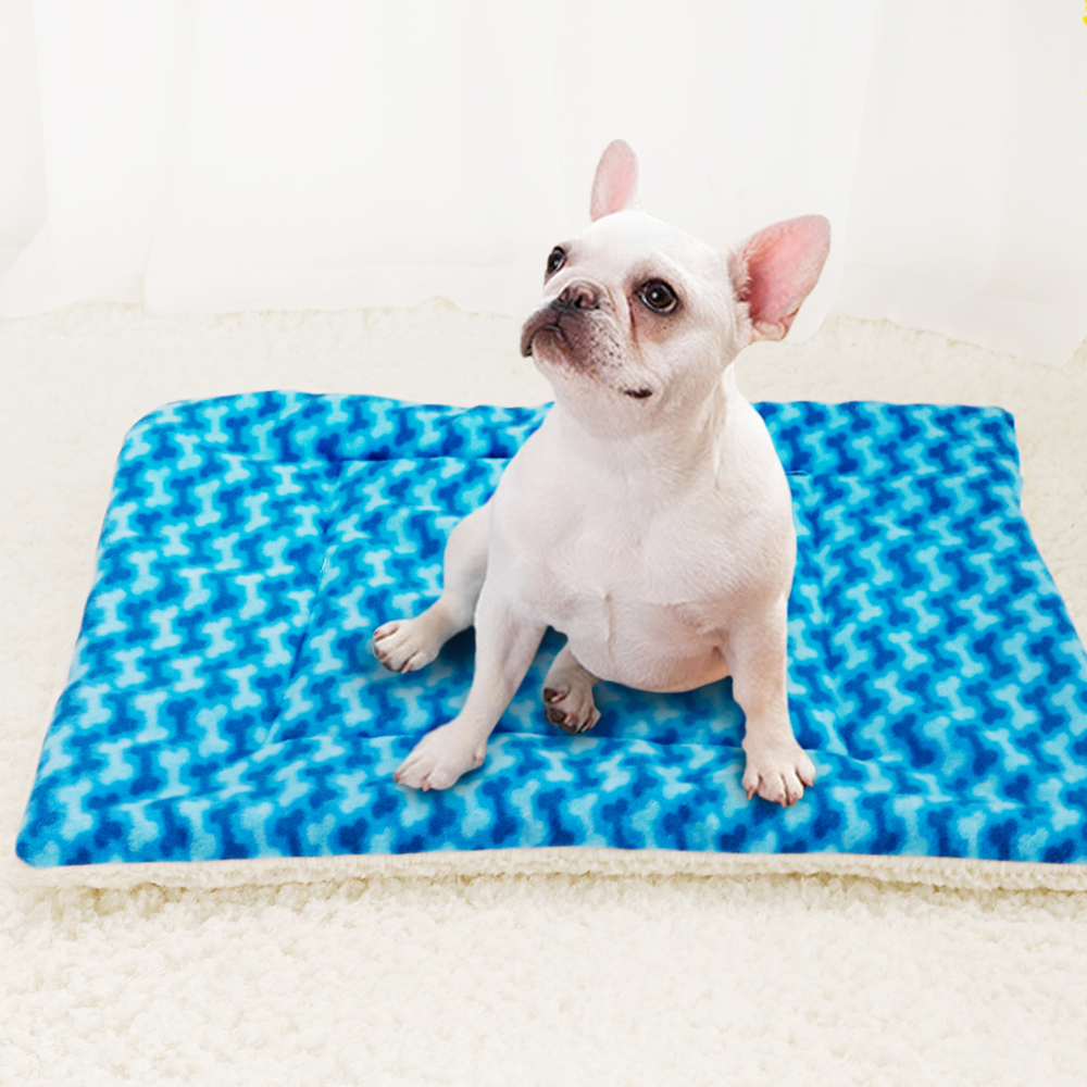 Soft Fleece Pet Kennel Bed Mat