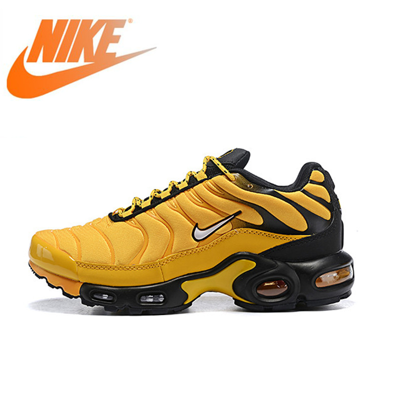 Original Authentic Nike Air Max Plus Men's Running Shoes Sneakers Breathable Athletic Designer 2019 New Arrival AV7940