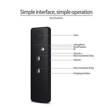 Smart Translator Bluetooth Instant Vocal Portable Support 40 Languages OUJ99