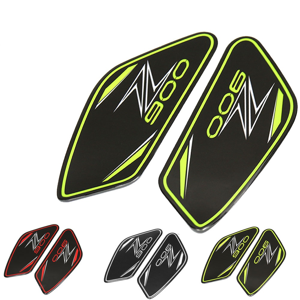 3D Real Tank Protection Sticker Anti Slip Tank Pad Sticker Gas Knee Grip Traction Side Decal  For Kawasaki Z900 2017 Z 900