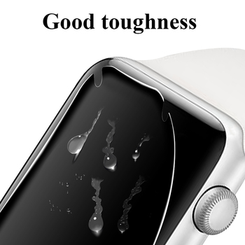 Hydrogel Film for Apple Watch 5 3 Screen Protector 44mm 40mm High Clear Film for iWatch Series 4 2 1 38mm 42mm Watch Accessories 10pcs lot oca optical clear adhesive film sticker glue for apple watch 38mm 40mm 42mm 44mm series 1 2 3 4