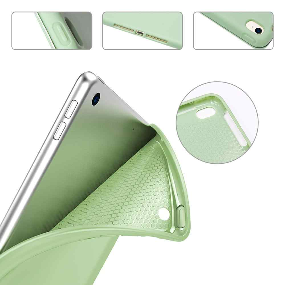 For iPad Air 2 Air 1 Case 2018 9.7 10.2 2019 / Pro 11 2020 Funda Soft Case for iPad 6th 7th generation Case for iPad 2 3 4 Mini
