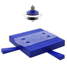 لعبة جيروسكوب سحرية للأطفال ذات دوارة مغناطيسية معلقة على شكل UFO لعبة كلاسيكية بالرفع العائمة