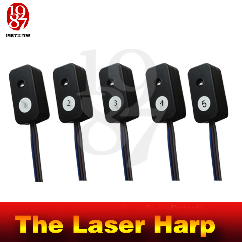 Image 5 - Takagism Game prop laser harp for room escape game puzzle clues device Play the right rhythm to unlock and get away chamber room-in Alarm System Kits from Security & Protection