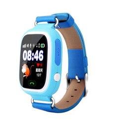 Grensoverschrijdende q90 kinderen telefoon horloge kleur touch screen GPS positionering WiFi kinderen smart watch mobiele telefoon