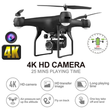 цена RC Drone 4K Quadcopter with WiFi FPV Electric Adjustment Camera Quadcopter 25 Mins Flying Time RC Helicopter for Kid Dron Toy онлайн в 2017 году