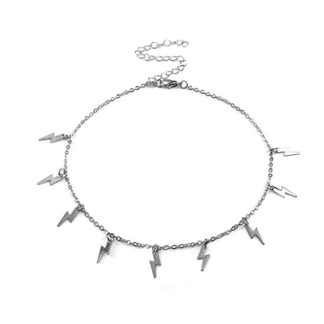 Lightning Pendant Necklace  Statement piece 4