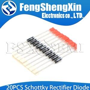 20PCS Schottky Rectifier Diode DO-41 DO-27 SR240 SR260 SR360 SR540 SR560 SR2100 SR3100 SR3200 SR5100 SR5150 SR5200 New