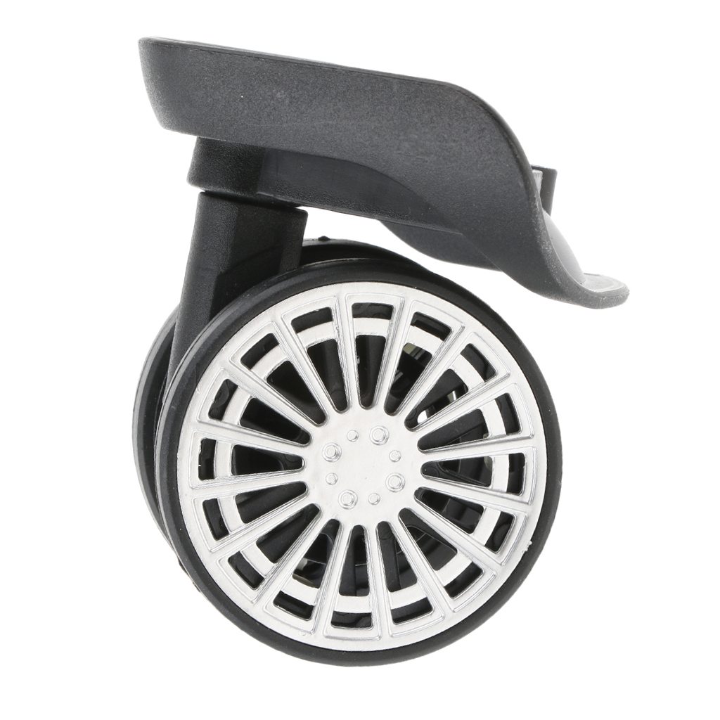1 Pair Swivel Mute Suitcase Luggage Casters Replacement Wheels For Travelling A58# Travel Accessories  Repair Tool Casters