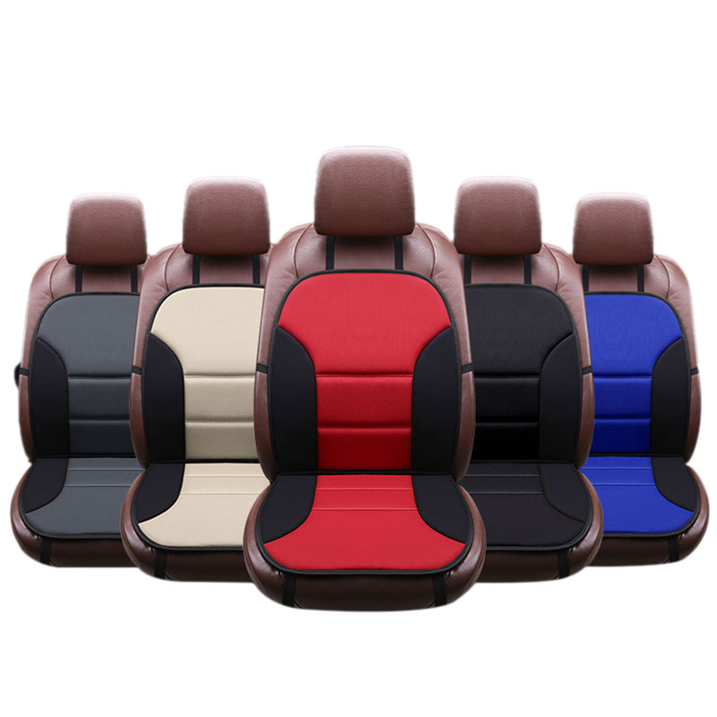 1PCS Luxury Auto Car Seat Covers Front Cushion Protector Cover Breathable Pad