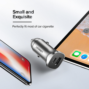Image 5 - Ugreen Quick Charge 4.0 3.0 Qc Usb Car Charger Voor Xiaomi QC4.0 QC3.0 20W Type C Pd Auto Opladen voor Iphone 12 X Xs 8 Pd Charger