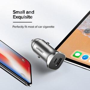 Image 5 - Ugreen Quick Charge 4.0 QC 3.0 USB Car ChargerสำหรับXiaomi QC4.0 QC3.0 18WประเภทC PDชาร์จรถสำหรับiPhone 12 X Xs 8 PD Charger