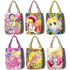 Image 1 - Lady Georgie Cartoon Large Capacity bag Shoulder Shopper lady handbag women shopping Leisure Fashion Satchel bag