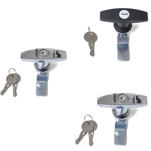 Lock-And-Keys-Replacement Canopy Trailer-Caravan T-Handle for Toolbox Zinc-Alloy Rust-Proof