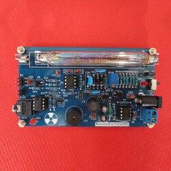 Módulo Kit DIY Montado Contadores Geiger Contador Geiger Tubo Tubo GM Detector de Radiação Nuclear Miller Com Som e Luz de Alarme