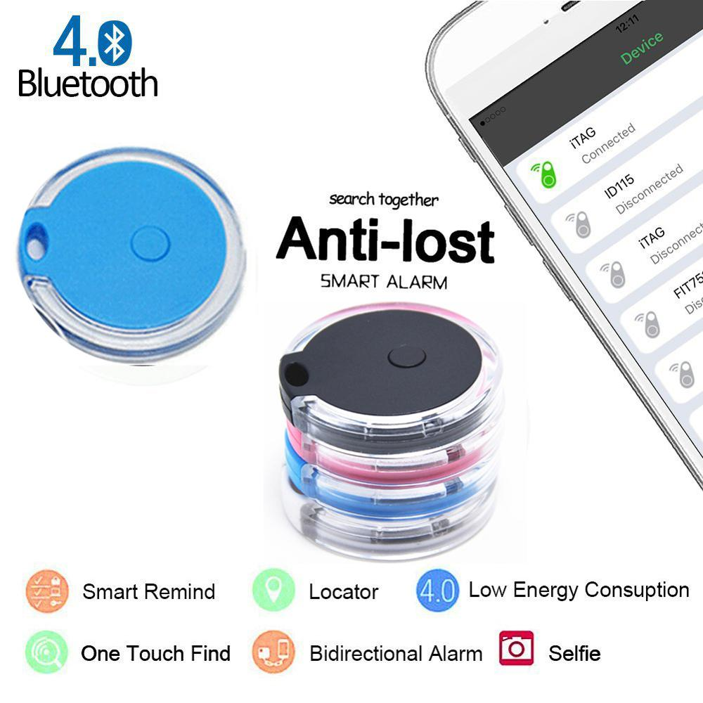 Smart Mini Waterproof Bluetooth4.0 GPS Tracker For Pet Dog Cat Keys Wallet Bag Kids Standby 6 Months Can Connect Four Tracker