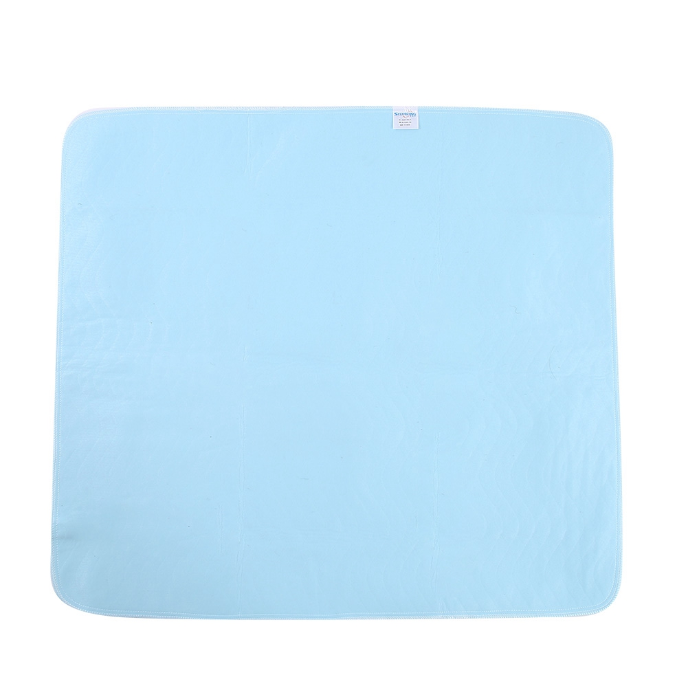 2Pcs Reusable Underpad Washable Anti Slip Waterproof Soft Absorbent Material Kids Adult Incontinent Pad Urinal Mat Diaper