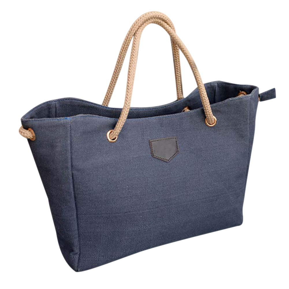 Fashion Women Handbag Solid Color Big Canvas Bag Design Casual Over Shoulder Bags GK99