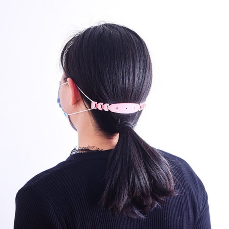Anti-Slip Ear Grips Buckles Silicone Mask Strap Extender Anti-Tightening Mask Ear Strap Hook Ear Grips Extension Mask Buckle