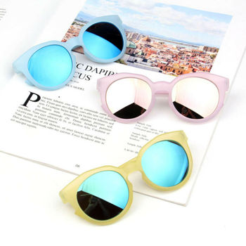 2019 Baby Accessories Children's Boys Girls Kid Sunglasses Shades Bright Lenses UV400 Protection Stylish Baby Frame Outdoor Look bright baby blankies