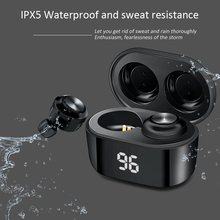 A6 Wireless Earphone Sports Earbuds Bluetooth 5.0 TWS Headsets Noise Cancelling Mic For iPhone Huawei Samsung Xiaomi Redmi phone baseus s01 bluetooth earphone wireless headsets for iphone samsung xiaomi magnetic switch earbuds auricular bluetooth earpieces