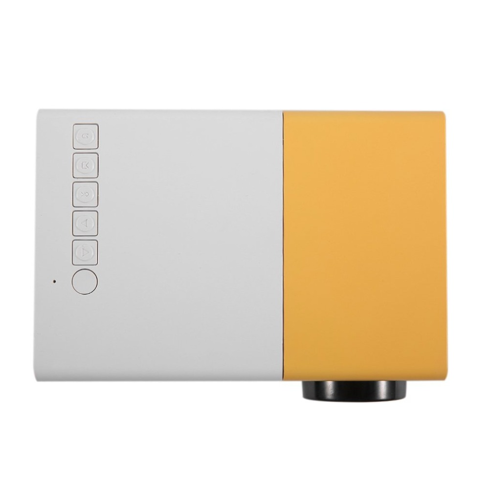 Yg300 mini projetor portátil lcd led proyector