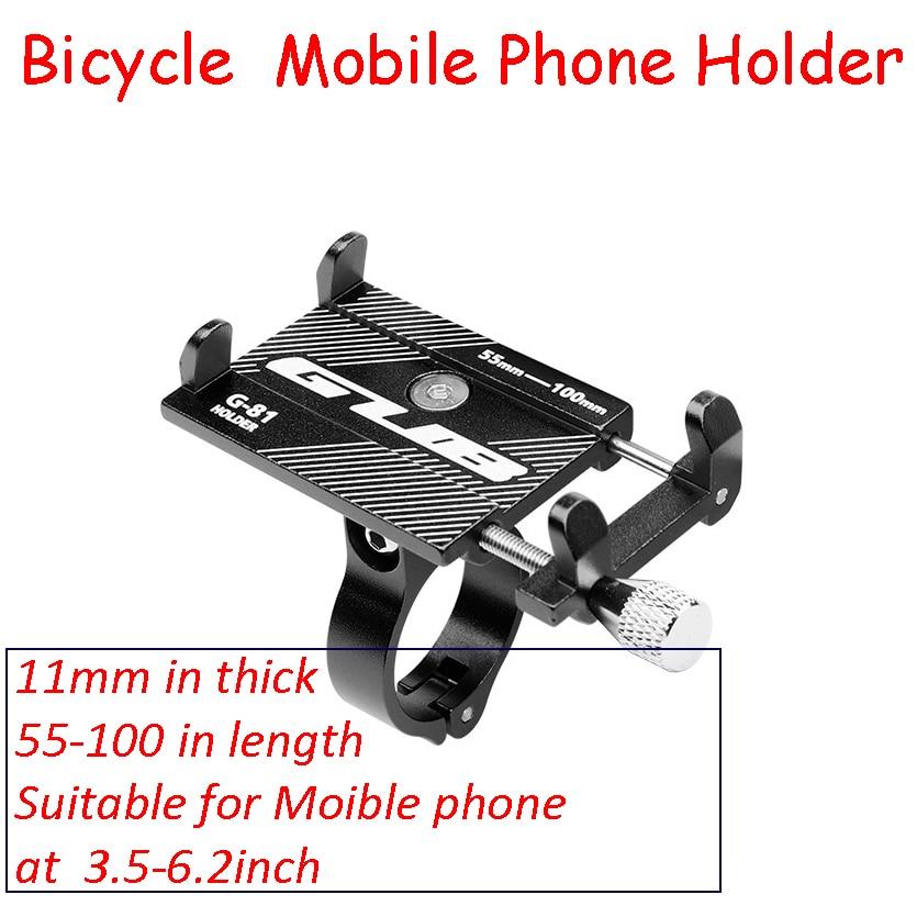 Dropshipping Bike Mobile Phone Holder G-81 Aluminium Alloy Mobile Phone Bracket Bicycle Holder Motorcycle Hand Frame