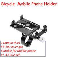 Livraison directe Portable de Vélo support pour téléphone G-81 En Alliage D'aluminium Support De Téléphone Portable porte-vélo Moto Main Cadre
