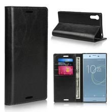 Classic Business Genuine Leather Flip Case For Sony Xperia XZ5 X XZ XZS XZ1 XZ2 XZ3 XZ4 XZ5 Compact Premium XA XA1 XA2 XA3 Ultra case for sony xperia l1 x xa ultra case wallet leather cover for sony xperia xz xr xz1 xz premium compact business style case