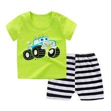 Bebê camiseta crianças verão meninos e meninas roupas de bebê para manga curta RCFS-20008-15