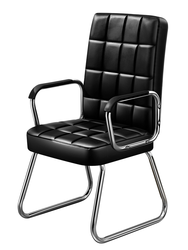 Office chair home conference staff chair simple student dormitory Mahjong chair game bow back computer seat