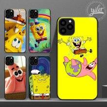Buy Funda for Case iPhone 11 SpongeBob SquarePants cover for Case iPhone XS Max XR Phone Case for iPhone 6 7 8 Plus SE 11 Pro Max X directly from merchant!