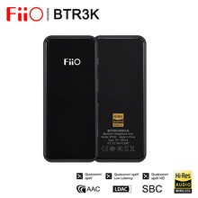 Fiio btr3k ak4377a * 2 balanceado, bluetooth 5.0 amp usb dac, suporte ldac/aptx hd lossless hifi codecs, chamadas sem uso das mãos, 2.5/3.5mm