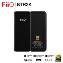 Fiio BTR3K AK4377A * 2 dengeli Bluetooth 5.0 Amp USB DAC, destek LDAC/aptX HD kayıpsız HiFi codec, eller serbest arama, 2.5/3.5mm