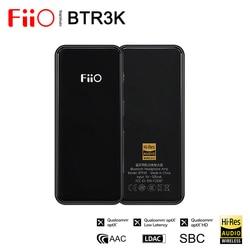 Fiio BTR3K AK4377A * 2 zbalansowany Bluetooth 5.0 Amp USB DAC  obsługa bezstratnych kodeków HiFi LDAC/aptX HD  połączenia głośnomówiące  2.5/3.5mm