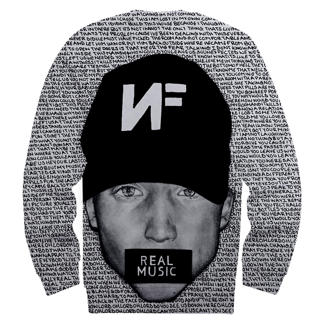 NF Lyrics SweatShirt 1