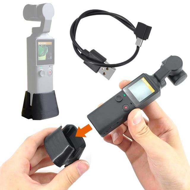 Подставка для зарядки, держатель для зарядки с удлинительным кабелем для камеры