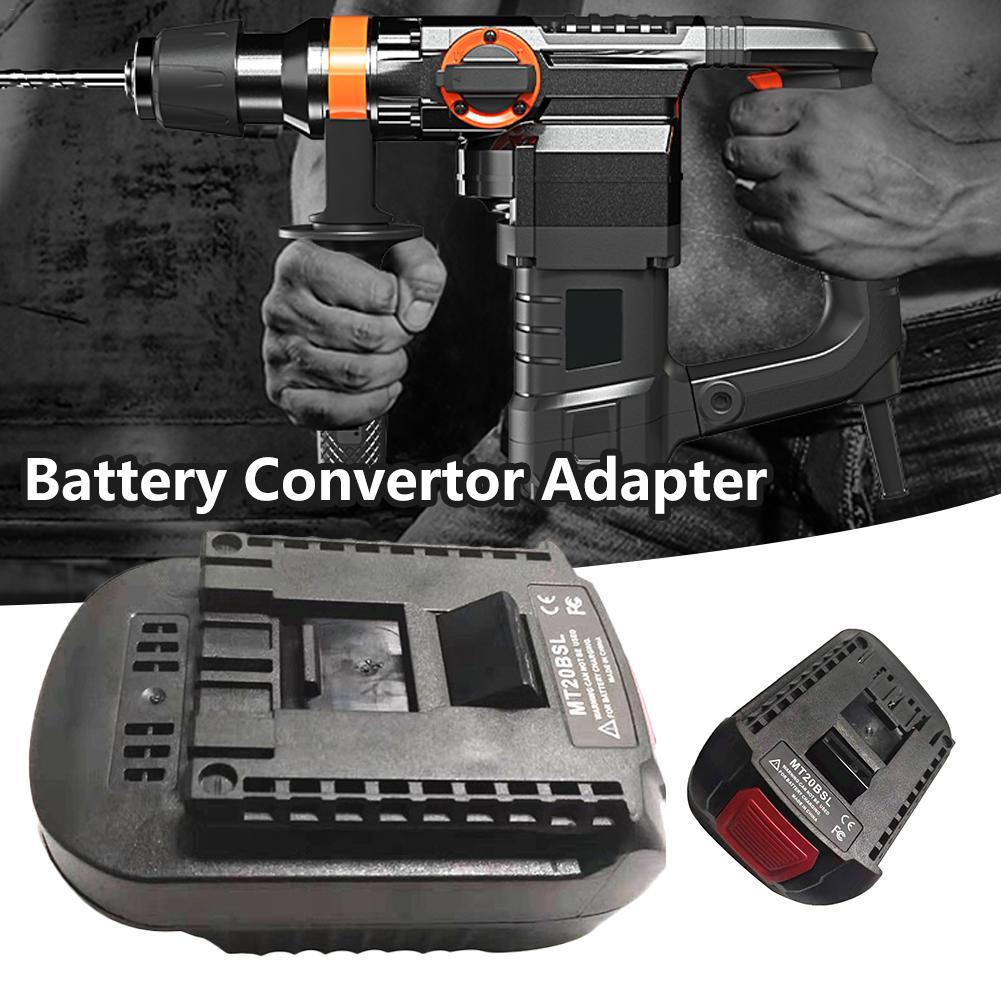 Li-ion Battery Converter Adapter Used To For MAKITA BL1830 BL1815 BL1840 BL1850 BL1860 Bosch 18V Tool Battery