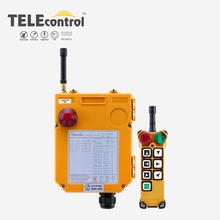 TELEcontrol  F24 6D 6 Buttons Double Speed Wireless Radio Industrial Remote Control  for Crane Hoist