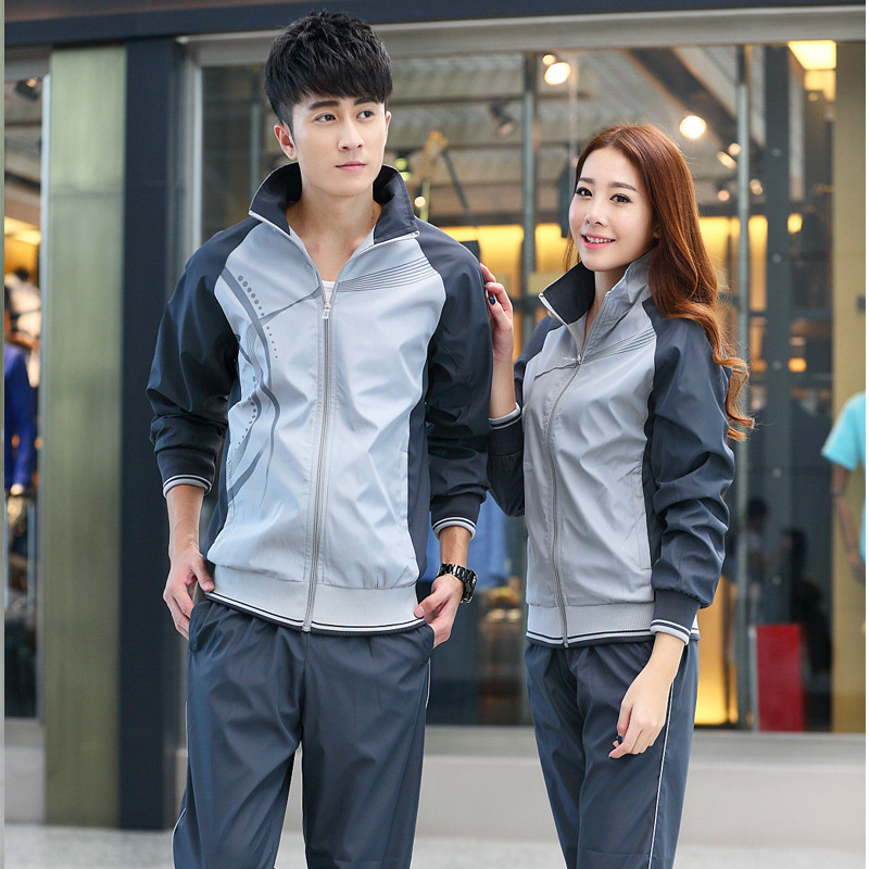 Fashion & Sports Set Sports Leisure Suit Spring And Autumn Loose-Fit Couples Sports Set