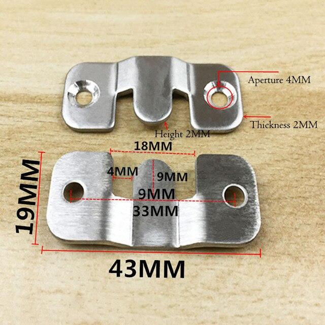 2 шт/компл пряжка из нержавеющей стали для дома фотография