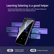 High Quality X1 Touch Screen Bluetooth MP3 MP4 Player Portable Audio Music Video Player With Built-in Speaker FM Radio Recorder fiio m7 high resolution lossless audio player bluetooth4 2 aptx hd ldac touch screen mp3 with fm radio support native dsd