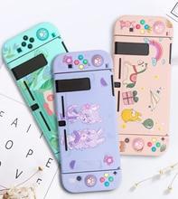 Kawaii Gradiente Morbida Case Cover & Joy con covers TPU In Silicone Antipolvere per Nintendo Switch di Console Jon Con scatto sul Caso