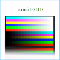 New LCD Display 10.1 inch IRBIS TZ197 TZ198E TZ198 3G FPC PBTB101H007 A1 PBTB101H007 AO TABLET LCD Screen Panel Lens Frame