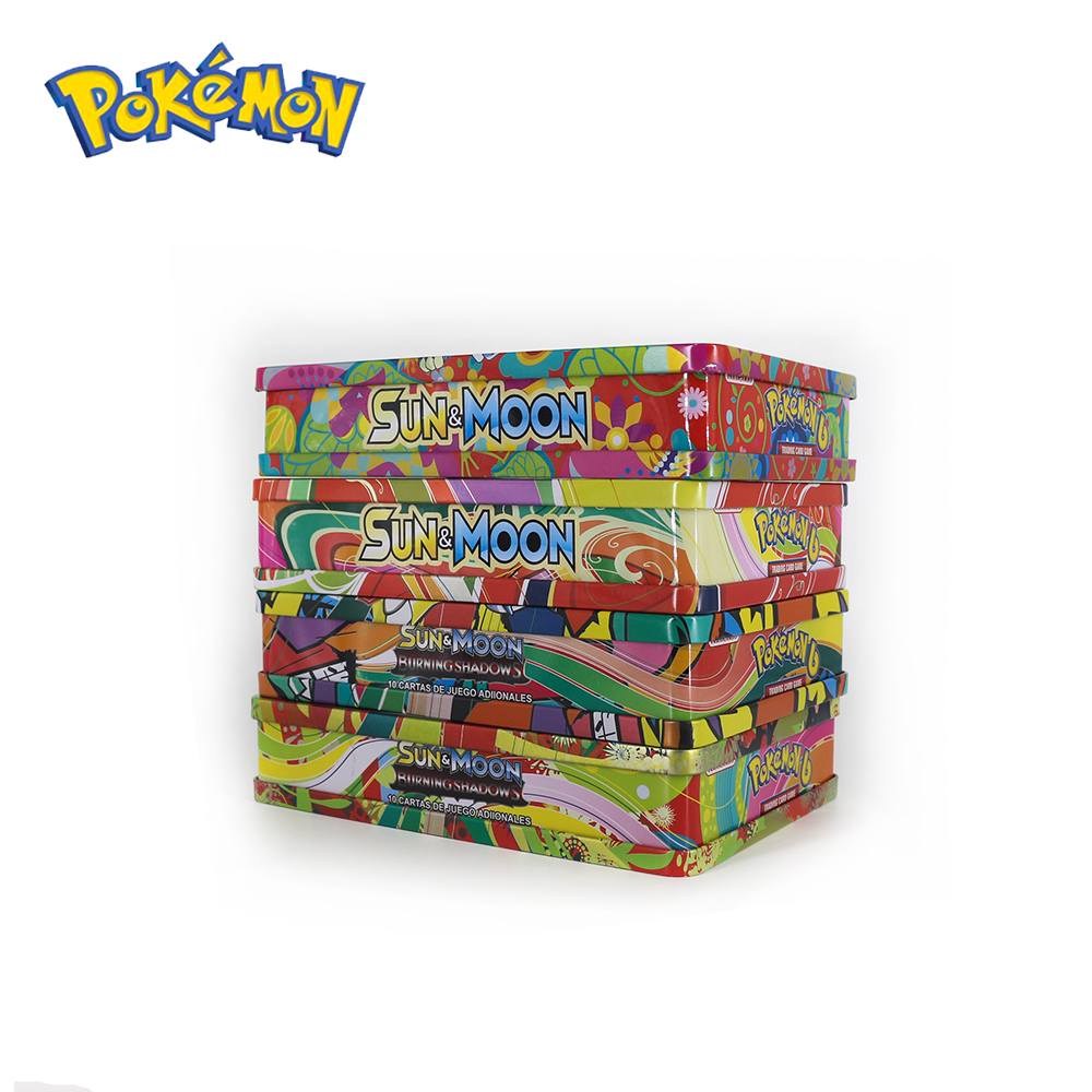 Pokemon GO Cards GX BREAK 3D Flash Card SWORD&SHIELD SUN&MOON Collectible Christmas Gift Children Toy