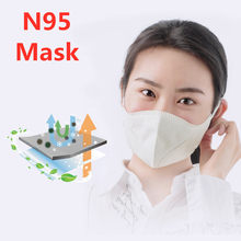 Face Mask N95 Respirator Mask 5 Layers Protective 95% Filtration Reusable Breathing Face Mask Profession Masks as KN95 KF94