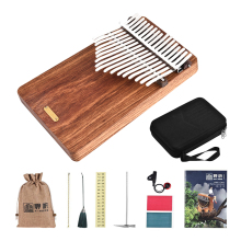 Stickers Mbira Thumb-Piano-Kalimba Lingting K17p Pickup Tuning-Hammer Music-Book Portable